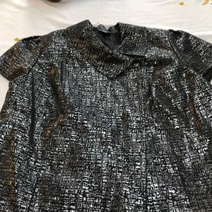 Mossimo silver/black jacket, size 20/22W